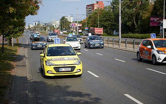 Kurs w MILA nauka jazdy