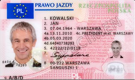 Prawo jazdy jak dowód – bez adresu zamieszkania